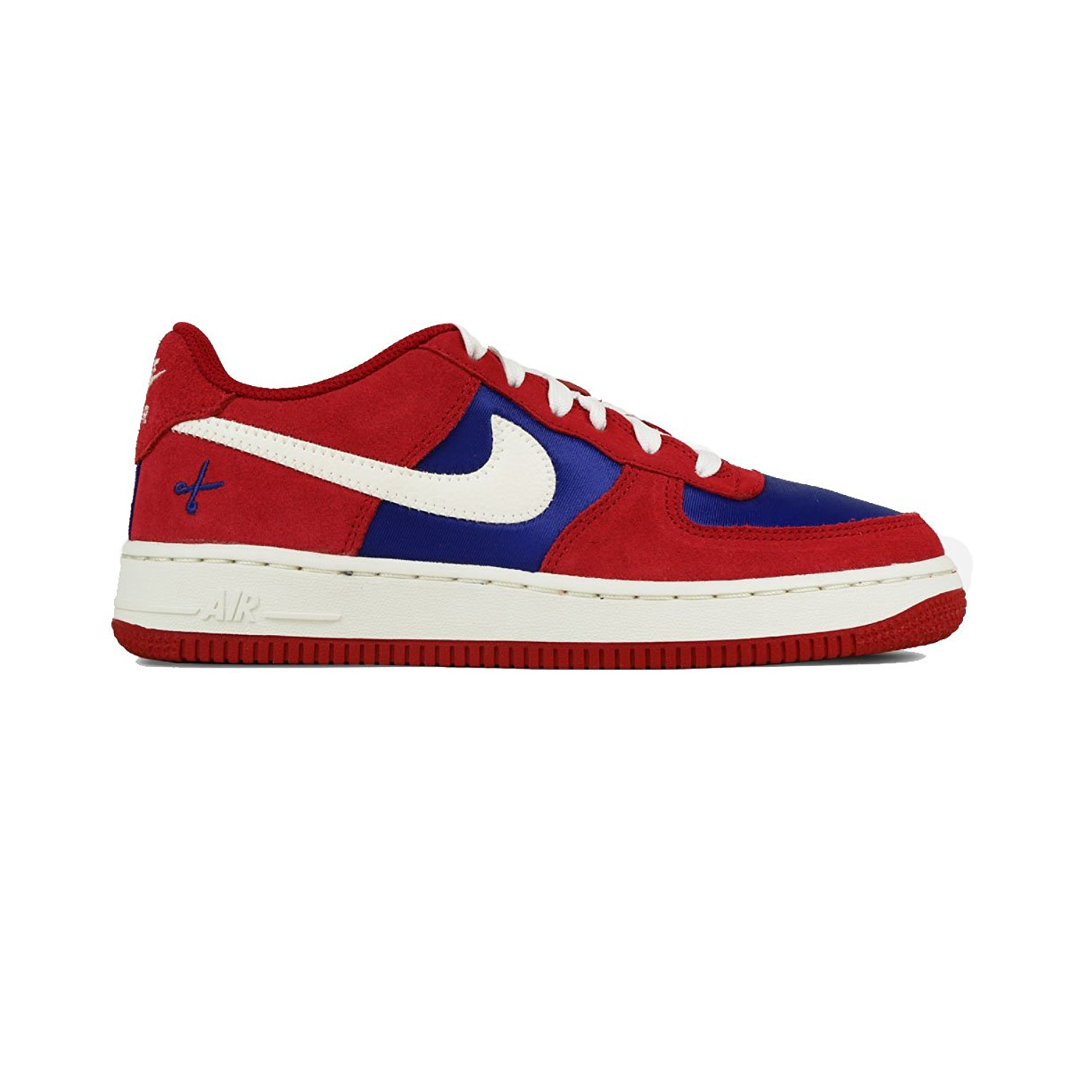 check out 20b32 0df72 Nike 596728-626  Air Force 1 Low Casual Grade School Red White