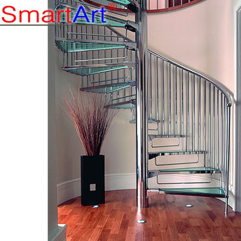 Incroyable Stainless Spiral Staircase/cast Iron Spiral Staircase