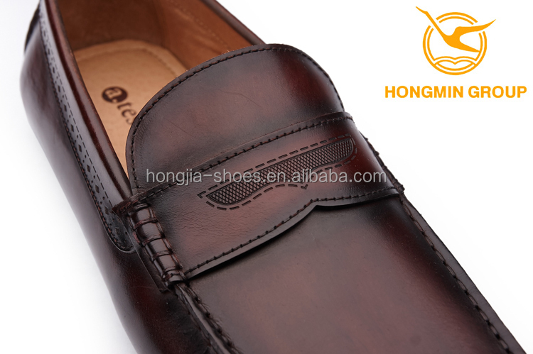 slip fashion italian style brand cow without lace shoes casual male on moccasin china leather r5qxIEwr