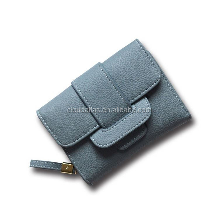Top fashion trendy women wallets patent ladies wallet
