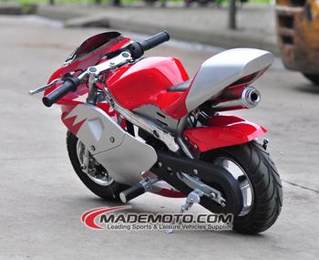 49cc 2 stroke mini moto / pocket bike/dirt bike with manual ignition method