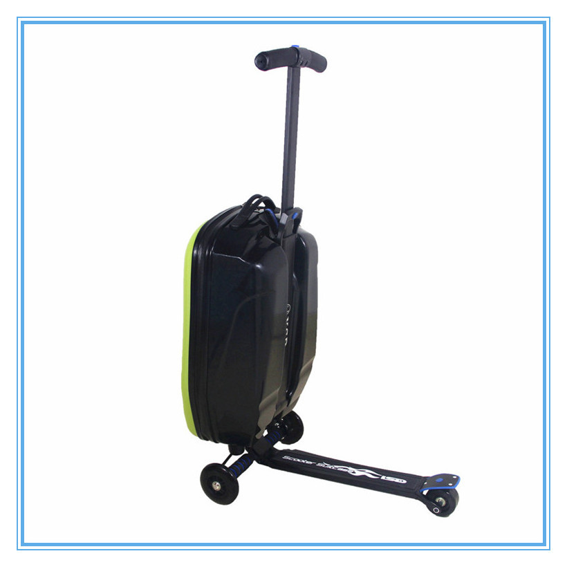 China Manufacturer Suitcase With Scooter Attached