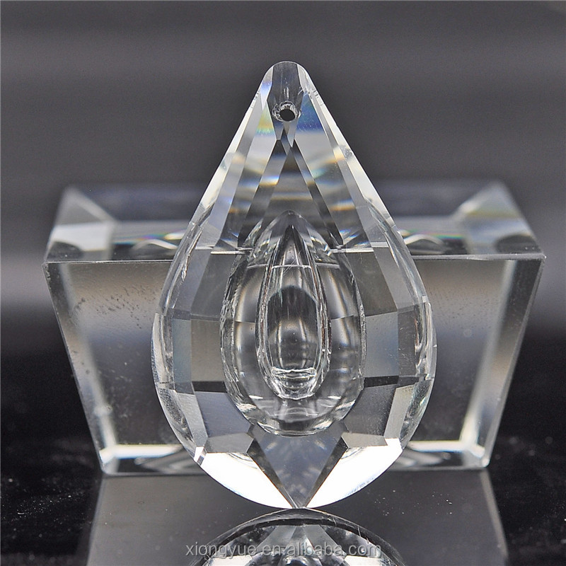 Diseño popular moderna americana doble gota de cristal candelabros ...
