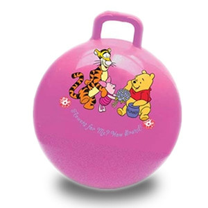 inflatable kids bouncing ball new design custom bouncing ball with handle