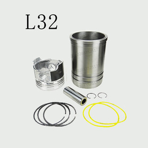 High quality c7 stainless steel motorcycle engine cylinder liner piston kit 7c6208