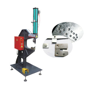 Cheap factory price Pneumatic connecting machine, C-frame bench