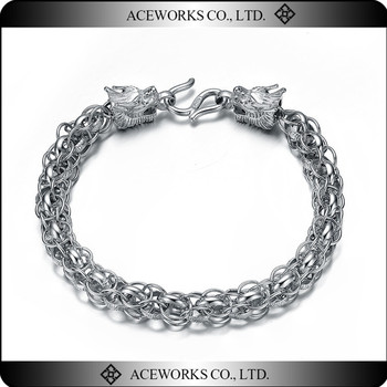 6082df7cf6b2c New Fashion 925 sterling silver bracelet for man Classic design mens  bracelet