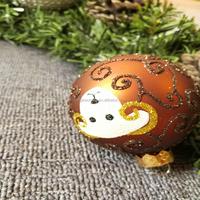 Fong Pou Craft 70 mm christmas led ball lighted decoration ornament