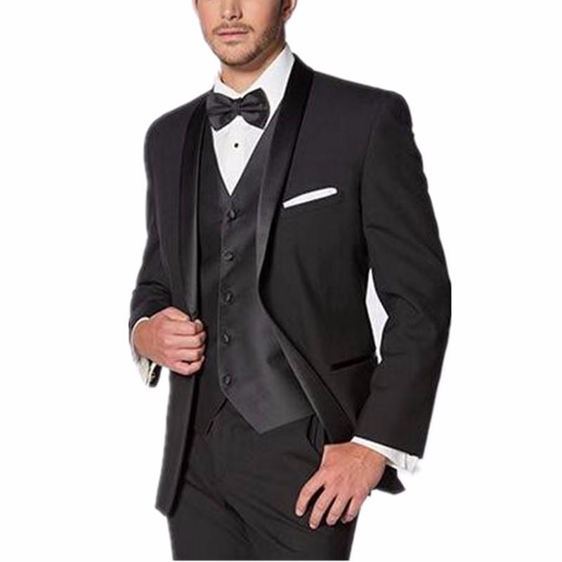buy new arrival shawl lapel black boy dress customize men suit veste