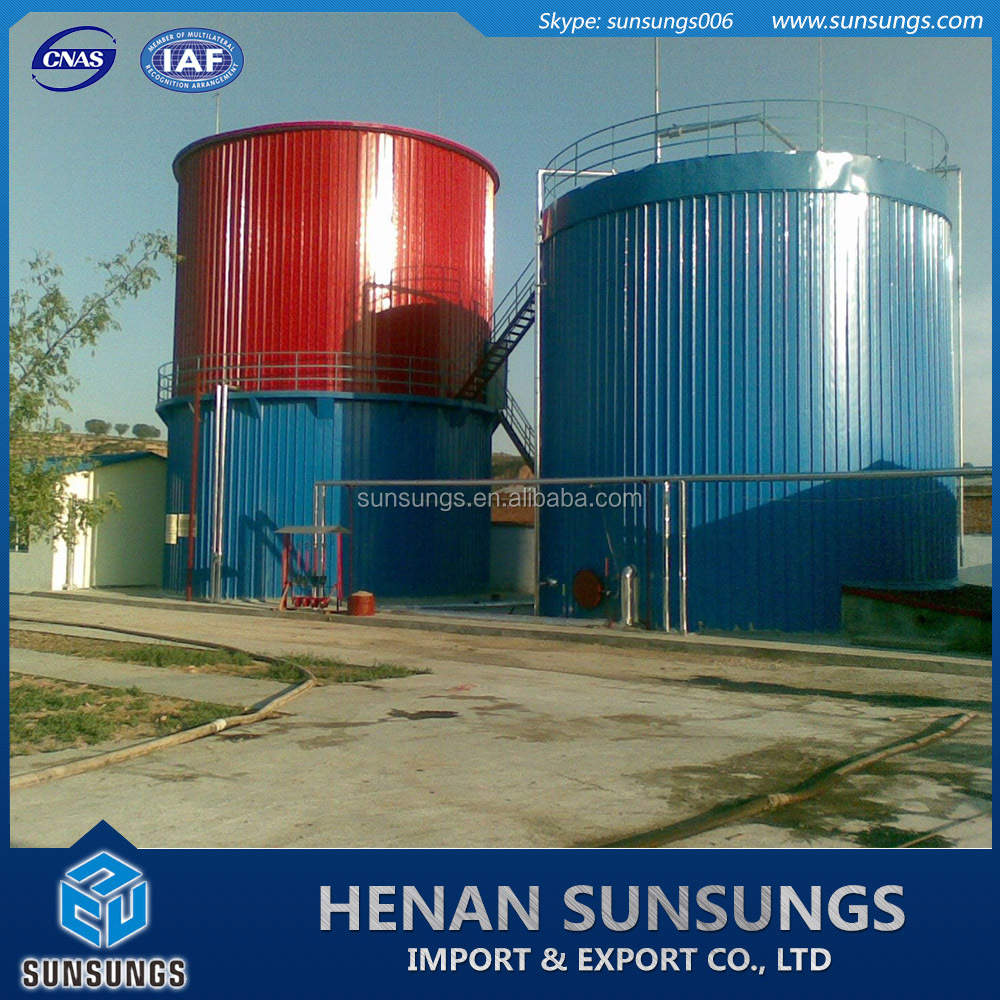 Heating system application anaerobic biogas digester for sale