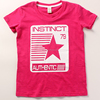 Fancy t-shirts for baby girls sweet girl soft cotton printing tshirts