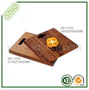 Square Bamboo Vegetable Cutting Board,Fruit Chopping Board