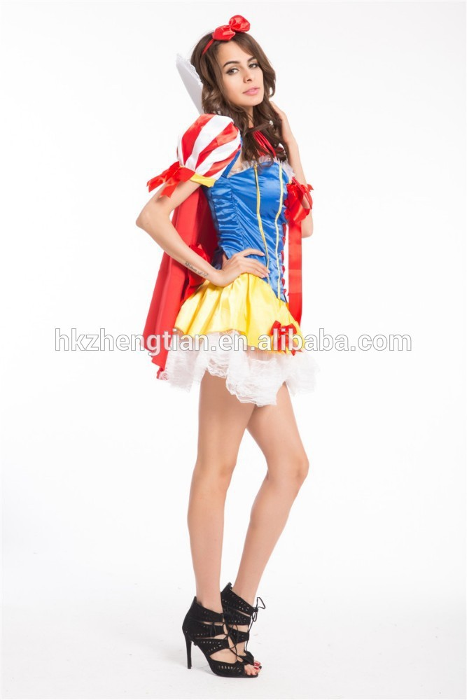 Instyles Quanzhou China manufacturer Snow White Fever Fairytale Fancy Dress Adult Book Ladies Costume Outfit S-3XL
