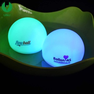 Plastic Color Changing LED Glow Floating Ball For Swimming Pool