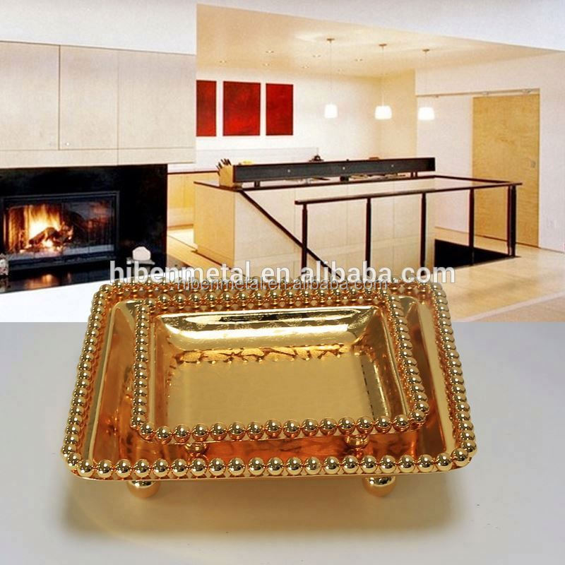Best selling items online silver repair toronto contemporary serving tray gilded gold