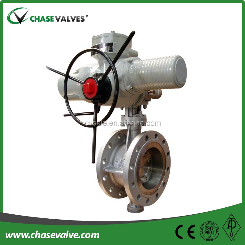 Ansi Stainless Steel Flange Type Butterfly Valves With Pneumatic ...
