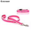 Top Sale Pet Products CoCo Buddy Dog Collar and Leash Embroidery Pesonal Bamboo Dog Leash Lead