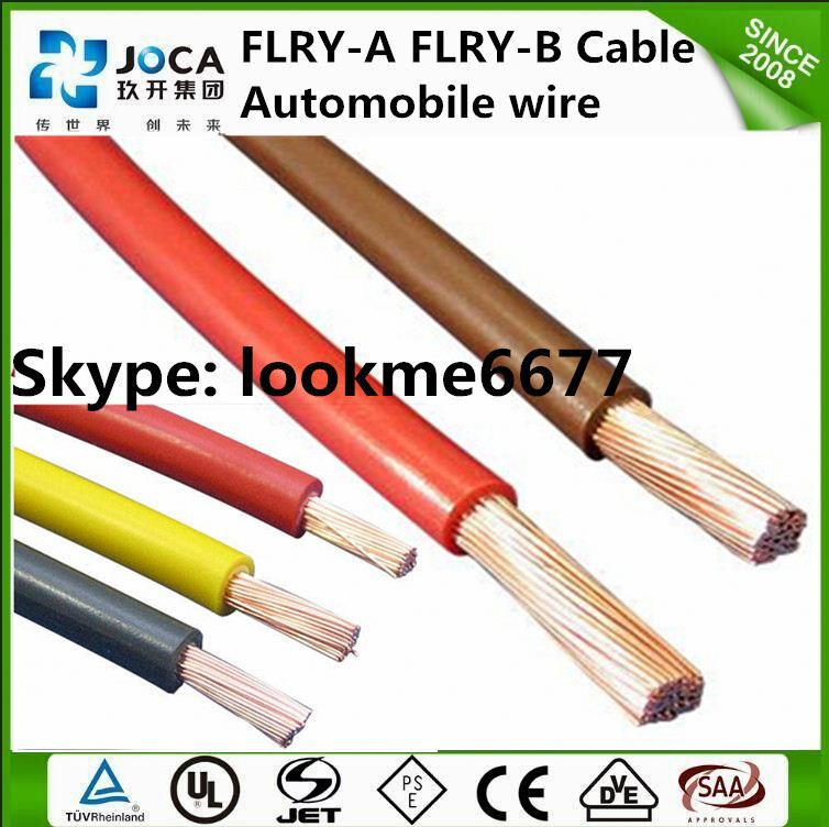 FLRY Thin Wall Low Voltage Wires for Automobile