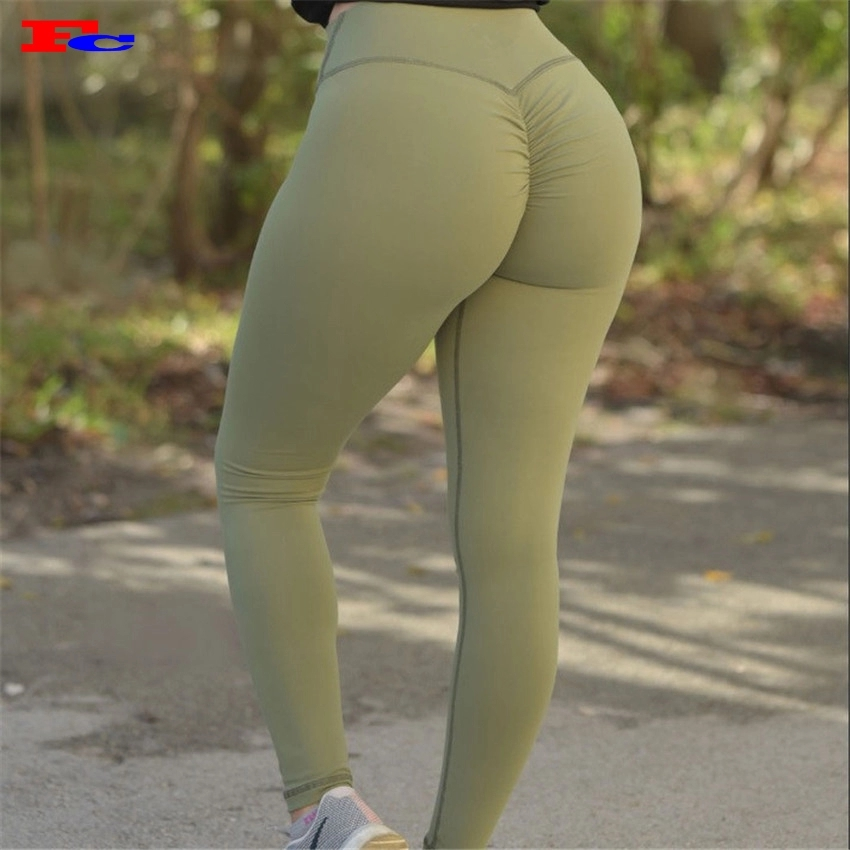 Femme Sport Gym Yoga Long Leggings Maille Panneaux Stretch Workout Pants