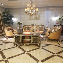 Senior custom Baroque Style furniture fancy living room Louis xv Arabic furniture