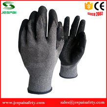 latex coated grey cotton liner glove industry