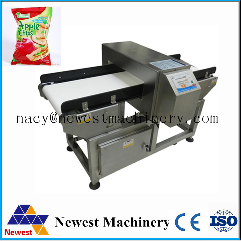 Touch screen digital conveyor food metal detecting device,food security detector,metal detector