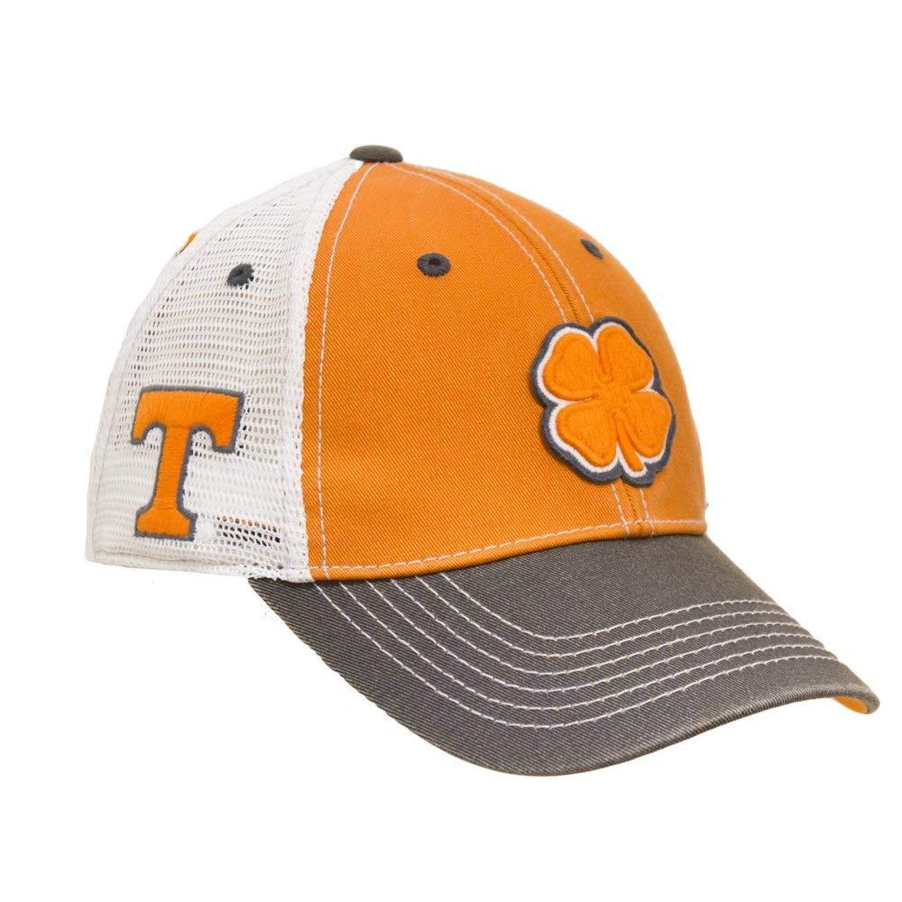 Black Clover Orange White Black Tennessee 2-Tone Vintage Snapback Hat 87d7520b73f5