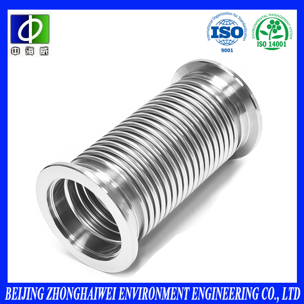 metal bellows expansion joint insulation cover