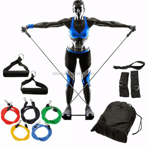 Fitness Resistance Bands Resistance Rope Exerciese Tubes Elastic Exercise Bands