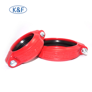 grooved couplings cast iron pipe fitting ductile iron cap