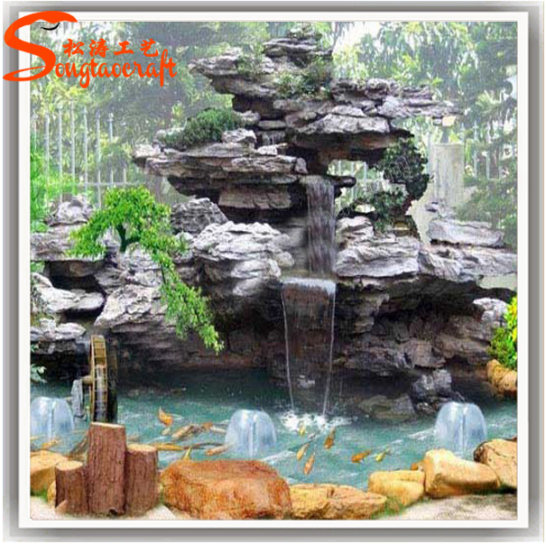 Garden fountain for sale garden stone water fountain for Aquarium waterfall decoration