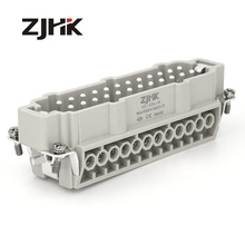 ZJHK Screw Terminal 500 볼트 16A Conector, 24 핀 Heavy Duty automotive 산업 electrical <span class=keywords><strong>커넥터</strong></span> types auto <span class=keywords><strong>커넥터</strong></span>