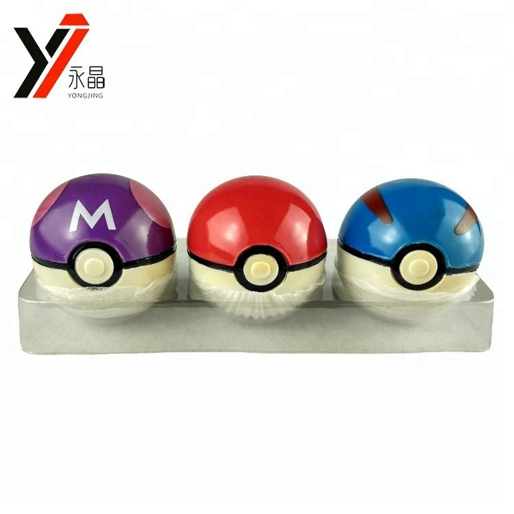 Chinese Speelgoed Leverancier Pokemon Set Custom Mini Rubber Stuiterende Poke Bal