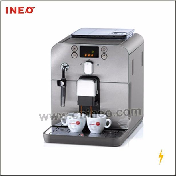 how to descale saeco odea coffee machine
