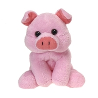 personalized stuffed red pig gifts animals plush toy