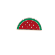 Professional Simple Design Zinc Alloy Watermelon CC Tie Brooch