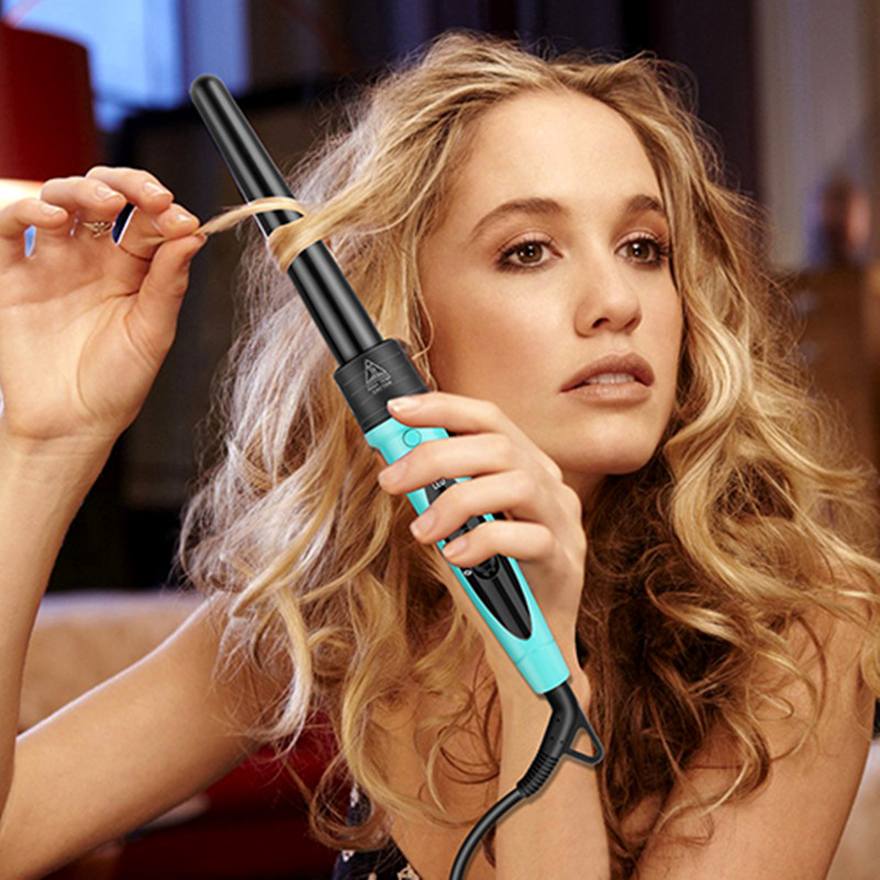 professional hair curling wand iron wave balance curler hair