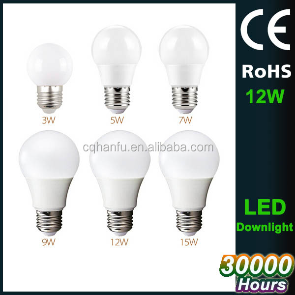 2017 hot sale energy saving home led bulb,12w 220v home led light,110v e 27 home bulb light