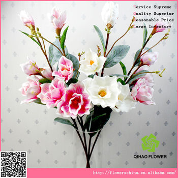 Organza Flowers Magnolia Petals Catalog Silk Flowers Buy Petals