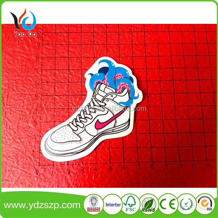 Lovely Shoes Cartoon Decorative Removable Vinyl Wall Stickers For Kids