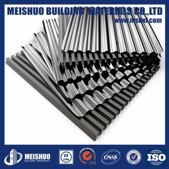 Gi Galvanized Corrugated Sheet Metal Fence For Wall