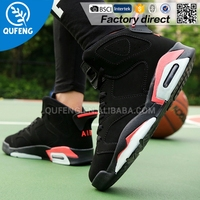 High quality Mens basketball shoes professional Athletic sports shoes rubber outsole for wholesale