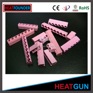 HIGH TEMPERATURE RESISTANT INSULATION CORROSION RESISTANT ALUMINA CERAMIC TEXTILE EYELET PINK