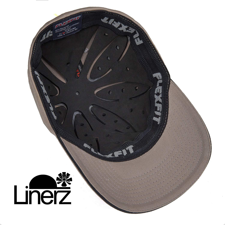 1cb25f33b1c Get Quotations · Linerz 1 8 inch Foam + Hard Shell Bump Cap Hat Insert Hat  Liner