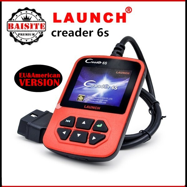 100% original car decoder tool Launch X431 Creader 6S Code Reader scanner with lowest launch x431 creader 6s prices