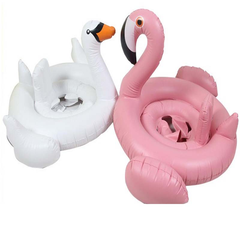 Eco-friendly pvc Matrial inflatable swan swimming floating for baby swimming pool float