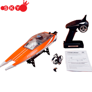 High Speed Racing Boat FeiLun FT016 RC Brushless 30km/h Water Cooling System Remote Control Boat Toy for boys husband