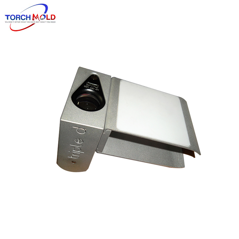 Portable Jewelry Appraisal instrument prototype mold