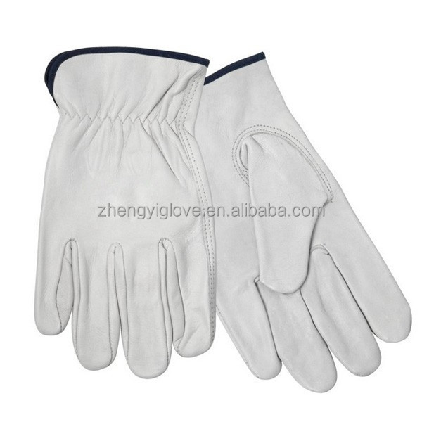 Cow Grain Driver's Gloves with CE certification