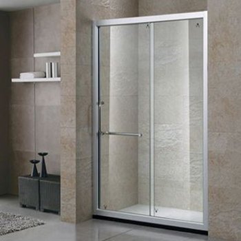6mm 8mm Frosted Glass Sliding Partition Shower Door Bathroom Cabin